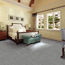 Carpet Tiles Commercial Carpet Tiles Carpet Floor Tiles Carpet Tile 20x20inch For Bedrooms Living Rooms Kids Rooms Office Decor 32 Tiles Per Carton 86 Square Feet Per Carton Smoky Grey Stripe Amazon Com