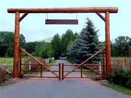 Ranch Entryways Ranch Entrance Ideas Farm Entrance Driveway Entrance