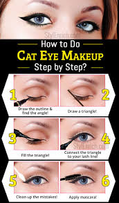 cat eye makeup learn how to do a cat