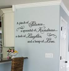 Add This Beautiful Patience Wall Art Decal To Your Kitchen Decor Kitchen Wall Quotes Kitchen Wall Decals Kitchen Decals