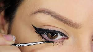 diffe types of cat eye makeup cat eye