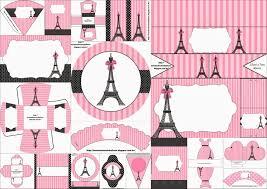 Sexy Kit Para Fiestas Con El Tema Paris Para Imprimir Gratis