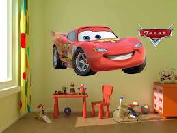 Disney Decals Lightning Mcqueen Wall Decalgame Room Cars Etsy