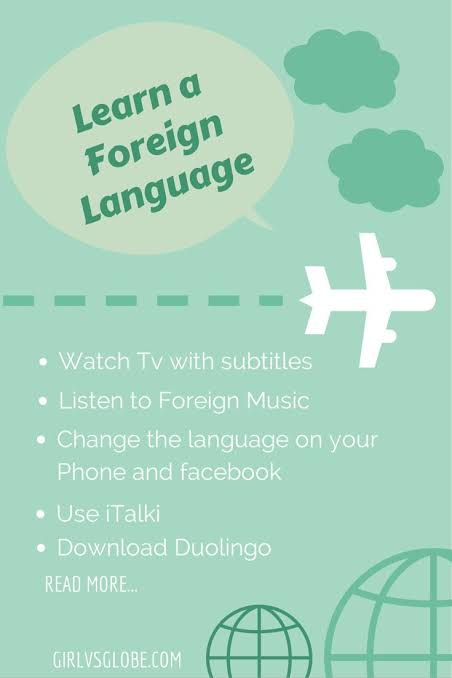 How to Learn a Foreign Language at Home