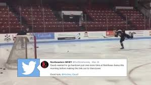 Adam Gaudette wanted to go BarDown one last time at Northeastern U before  heading to Vancouver - Article - Bardown