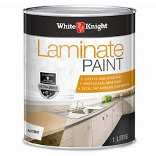 White Knight 1l Accent Laminate Paint Bunnings Warehouse