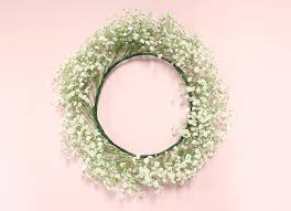 how to diy baby s breath flower crown