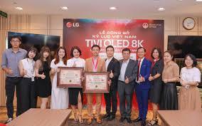 Công ty Điện tử LG Việt Nam xác lập 02 Kỷ lục Việt Nam về Tivi OLED 8K -  Viện Kỷ Lục Việt Nam