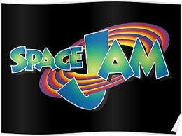 Space Jam Logo Sticker Poster Space Jam Space Jam Theme Looney Tunes Space Jam