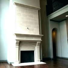 concrete fireplace surround how much
