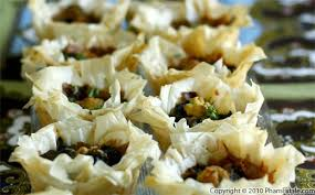 phyllo dough appetizer en and