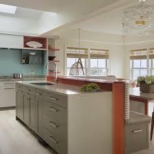 flat door melamine kitchen cabinet