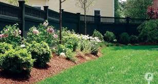 11 interesting fence line landscaping