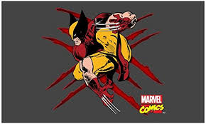 Amazon Com Cafepress Wolverine Scratches Rectangle Bumper Sticker Car Decal Home Kitchen