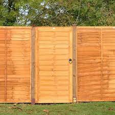 Wooden Fence Gate Overlap Cladding Gardenis Co Uk