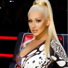 christina aguilera makeup on the voice