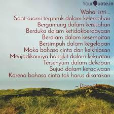 wahai istri saat suami quotes writings by diana nursanti