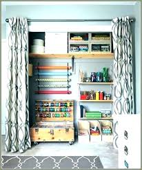 how to organize a small closet on a