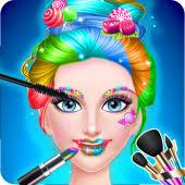 candy makeup beauty salon tris sweet