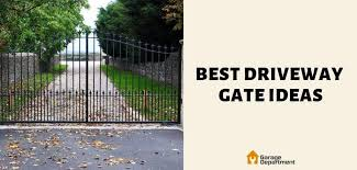 34 Best Driveway Gate Ideas 2019 2020 Edition Garage Department