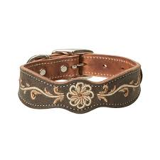 weaver leather country charm dog collar