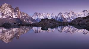 lac blanc mont blanc chamonix france