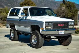 gmc jimmy body on frame off road suv
