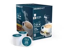 escapes cafe vanilla latte keurig k cups