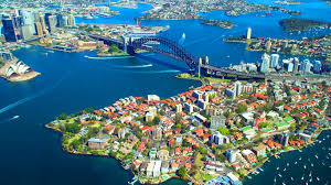 sydney harbour bridge australia from