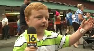 Apparently' this cute kid talking about live TV and the Powerball will make  you smile   myfox8.com