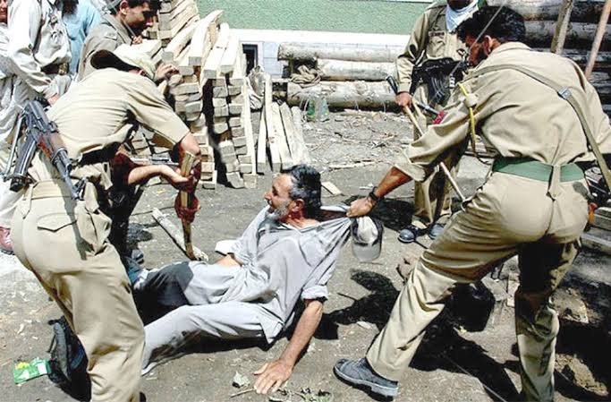 Image result for brutality in kasmir""