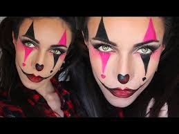 pretty clown makeup tutorial saubhaya