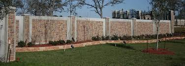 Concrete Block Fence Stonetree Concrete Fence System