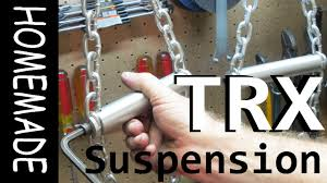 homemade trx style suspension trainer