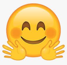 Waving Hand Emoji Png - Hugging Face Emoji Png, Transparent Png ...