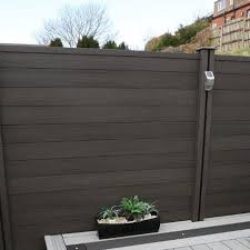 Fence Panel Made Of Wood Composite Material Waterproof Moisture Flame Retardant Effect Is Very Good At Outdoor Flooring Outdoor Wall Panels Composite Decking