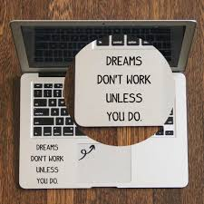 Daily Self Motivation Quote Laptop Trackpad Sticker For Apple Macbook Pro Air Retina 11 12 13 14 15 17 Inch Vinyl Mac Book Decal Aliexpress