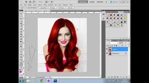 how to apply face makeup in photo cs5
