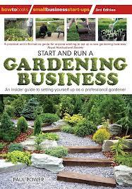 start and run a gardening business 3rd
