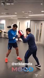 Dele Alli posts Instagram video of Erik Lamela in Tottenham ...