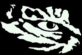 11 Lsu Eye Of The Tiger Vinyl Decal Window Sticker For Sale Online Ebay