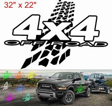 2pcs For Both Side Decal Sticker Side Rear Mud Kit For Jeep Wrangler Jk 4x4 Rubicon Off Road Trucks Wish