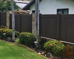Mike S Fencing Hawaii Chestnut Brown Vinyl