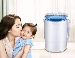 HÀNG LOẠI I] Máy giặt mini cao cấp - Máy giặt đồ cho bé - Máy giặt hiệu con  vịt TE0003