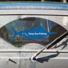 Marlin Decals Custom Marlin Window Stickers