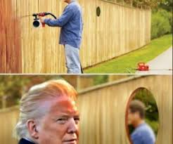 Trump Fence Spray Paint Meme Archives Shut Up And Take My Money