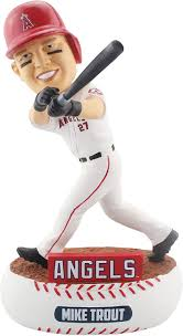Kiiiiid Bobblehead Forever Collectibles Mike Trout Los Angeles Angels Players Weekend Special Edition