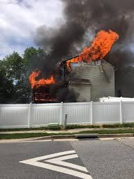 Saturday Fire Destroys Perry Hall Home