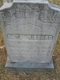 Kate Hibbard Clough (1871-1901) - Find A Grave Memorial