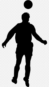 Football Player Wall Decal Silhouette Football Sport Hand Room Png Pngwing